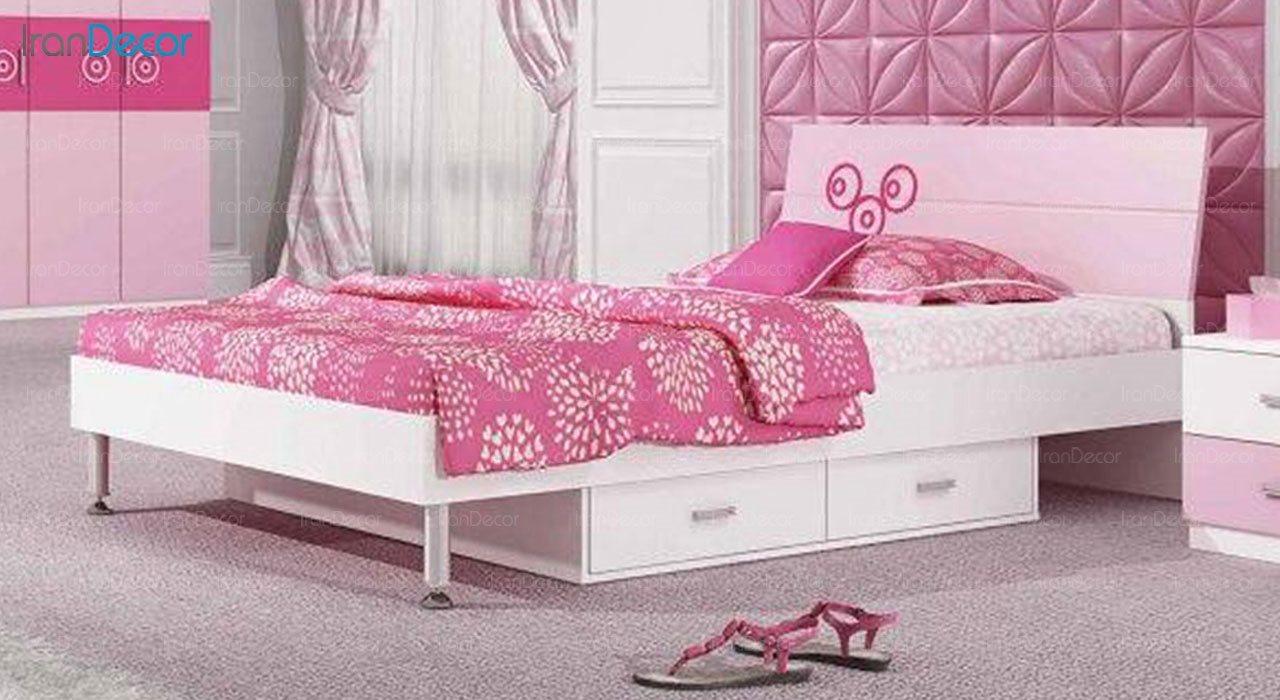 تخت خواب نوجوان چری مدل C325