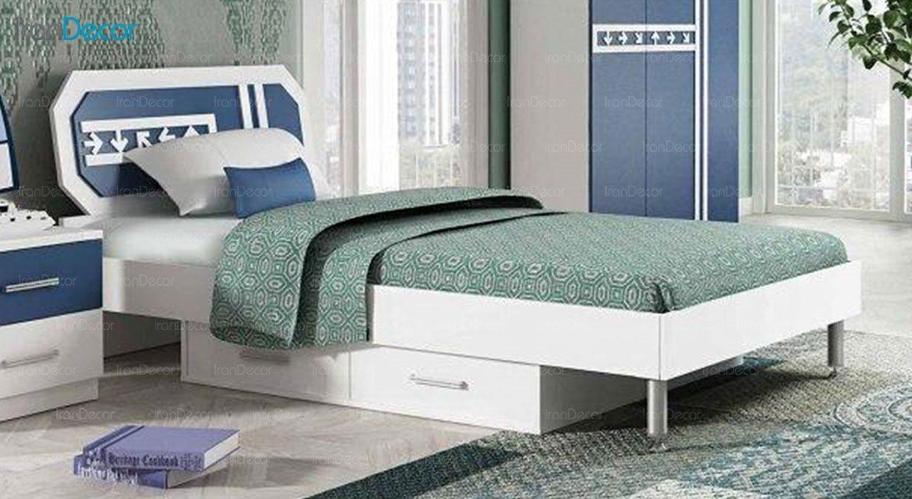 تخت خواب نوجوان چری مدل C329