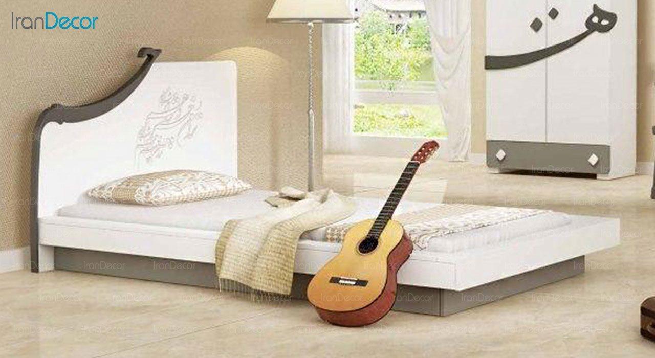 تخت خواب نوجوان چری مدل C337