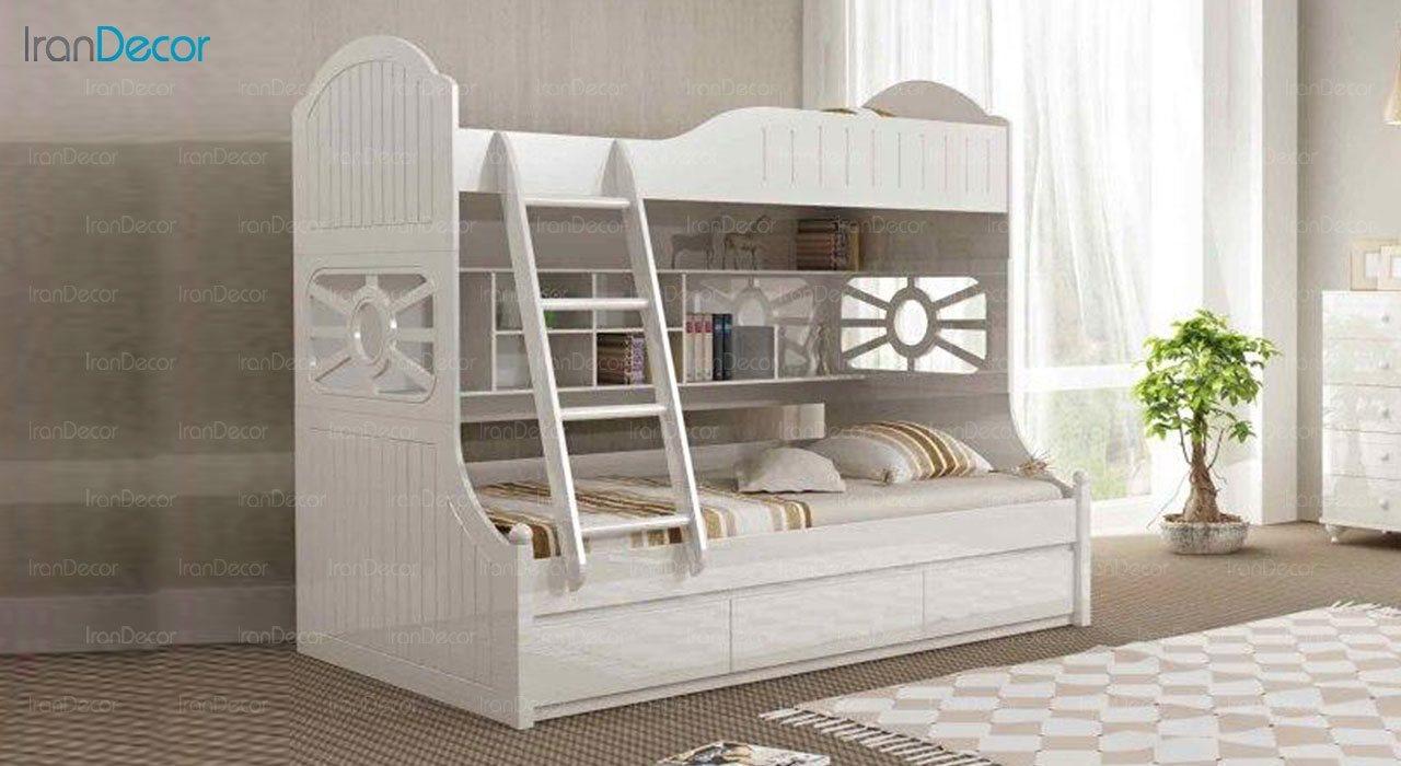 تخت خواب دو طبقه نوجوان چری مدل C502