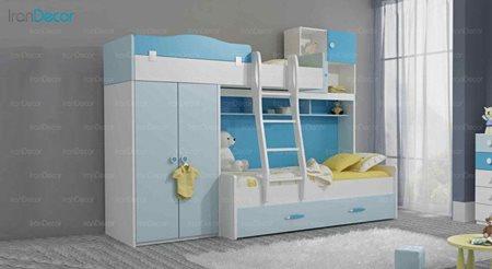 تخت خواب سه طبقه نوجوان چری مدل C505