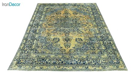 فرش دستباف وینتیج سبزوار مدل 5943
