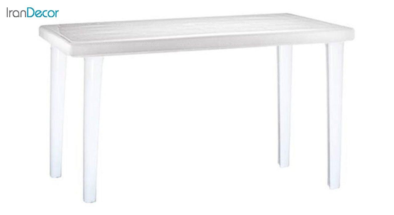 میز ناهار خوری دو منظوره  نظری مدل 516 سفید