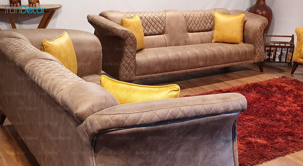 کاناپه راحتی سه نفره مدل بریستول از نیک آذین