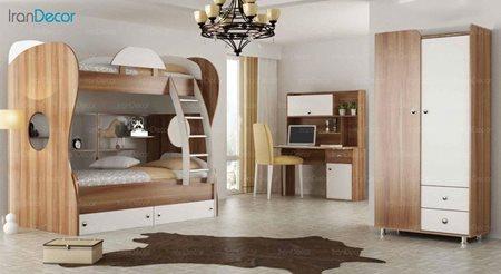 سرویس تخت خواب دو طبقه نوجوان فراز مدل F500