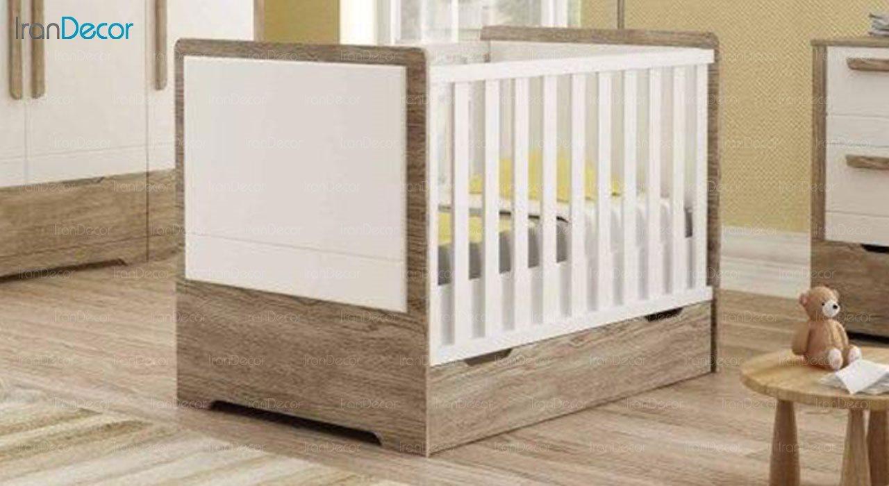 تخت خواب نوزاد فراز مدل F102