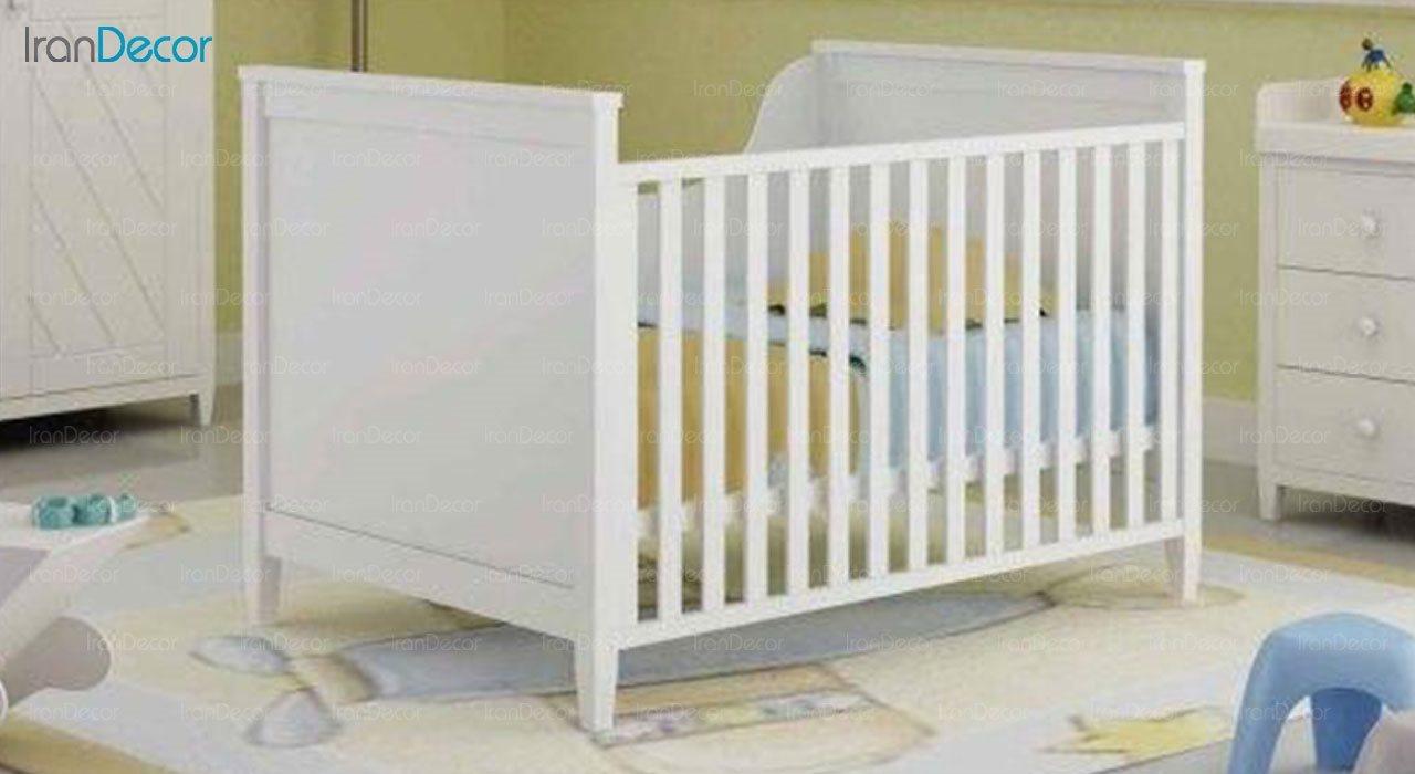 تخت خواب نوزاد فراز مدل F105