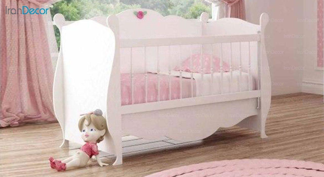 تخت خواب نوزاد فراز مدل F138