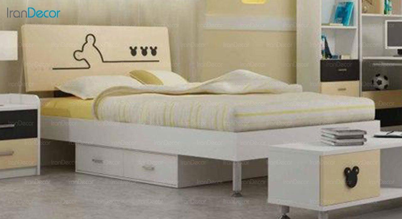 تخت خواب نوجوان فراز مدل F313
