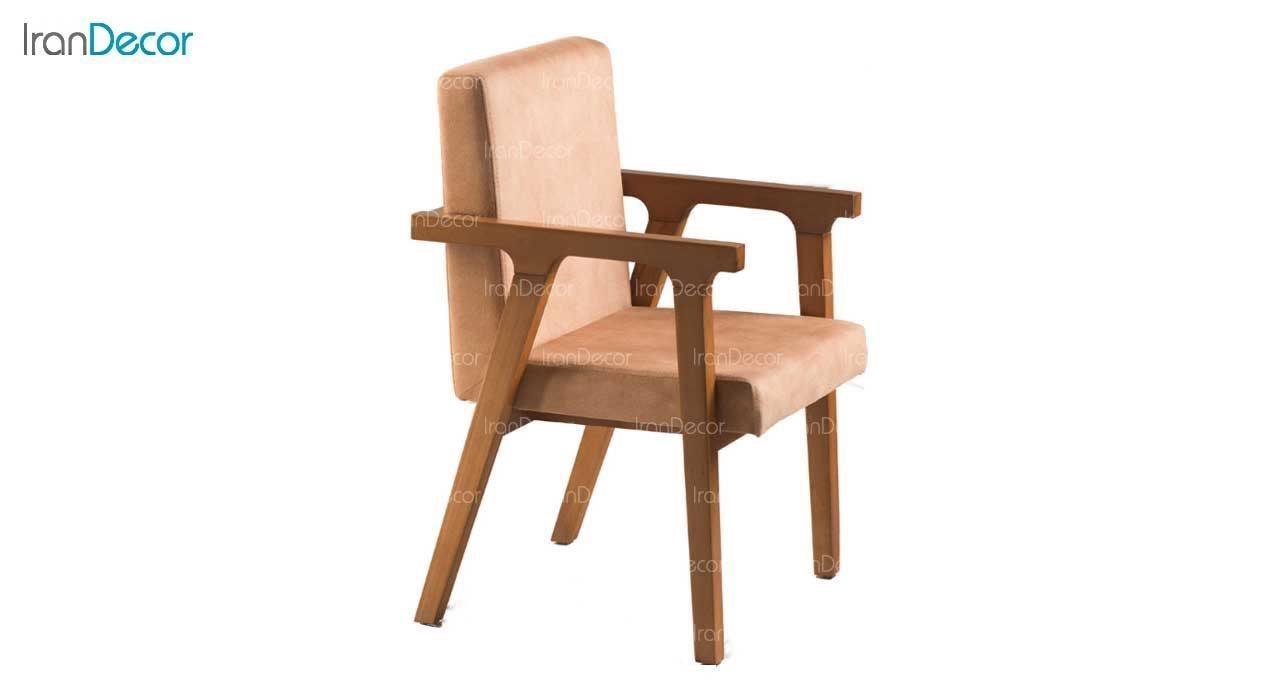 صندلی دسته دار چوبی مدل ماهور از فاما