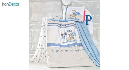 سرویس لحاف روتختی هشت تکه کودک و نوزاد لومانا مدل اسکیپ