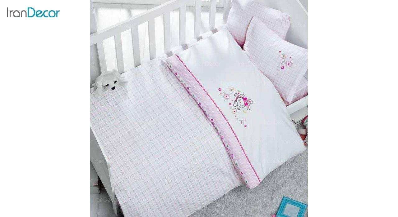 سرویس کاور روتختی چهار تکه نوزاد لومانا مدل بانی