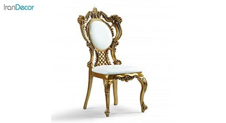 صندلی ناهار خوری سلطنتی ماهان مدل یونیک مبله