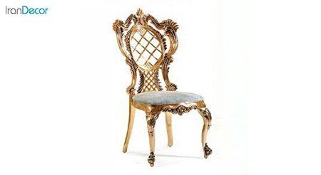 صندلی ناهار خوری سلطنتی ماهان مدل یونیک ساده