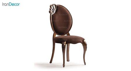 صندلی ناهار خوری کلاسیک ماهان مدل کویین