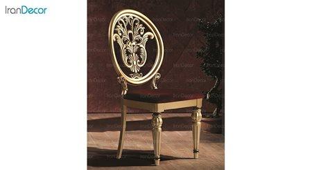 صندلی ناهار خوری کلاسیک ماهان مدل کینگ ساده