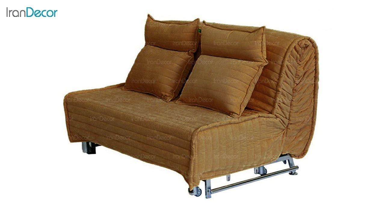 مبل تختخواب شو سیب مدل کاپری عرض 80 عدسی