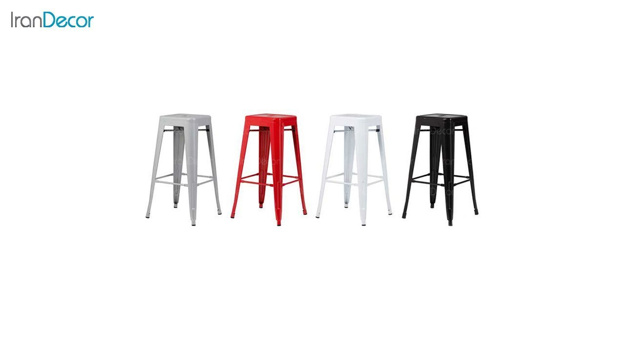 چهارپایه کانتر فلزی نظری مدل تولیکس N503