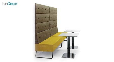 تصویر مبل رستورانی پایه فلزی نظری مدل پونتو F200