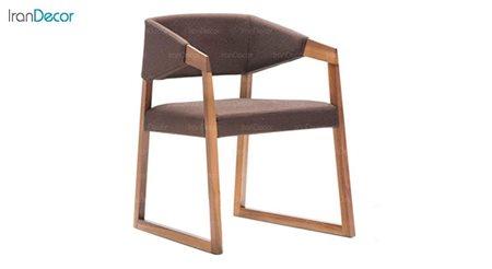 تصویر صندلی دسته دار نظری با کاور پشتی مدل ساین P700A