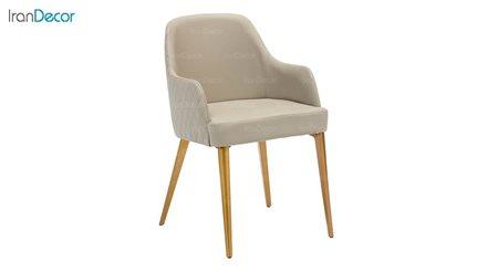 تصویر صندلی دسته دار نظری با پایه دایکاست مدل ونیز P550A
