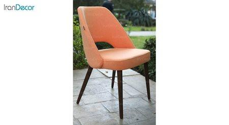تصویر صندلی پایه چوبی نظری مدل ورونیکا P920