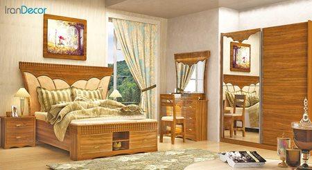 سرویس خواب بزرگسال مدل تیتوس از ساج آسا
