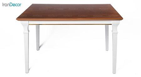 میز ناهار خوری مستطیل چوبی مدل کاترین