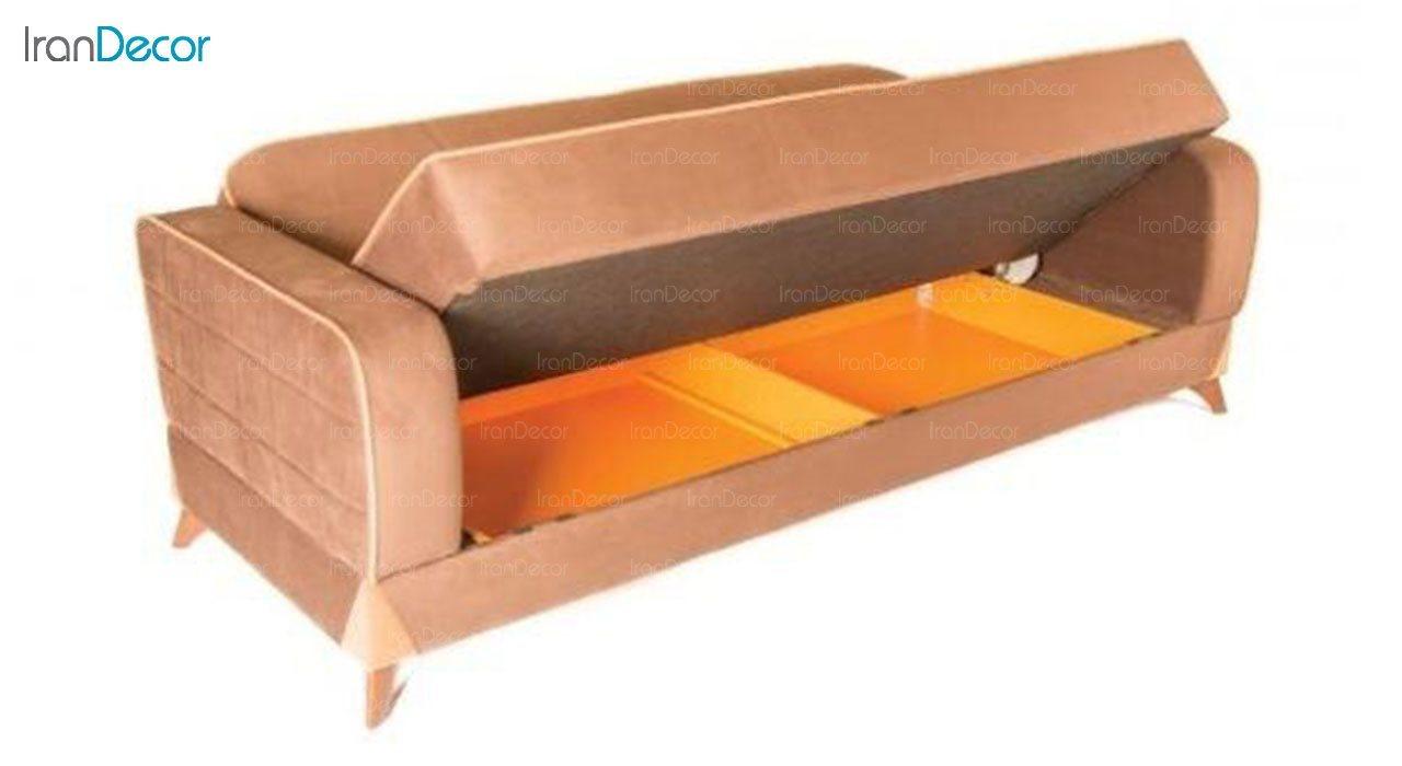کاناپه سه نفره تختخواب شو اوهر مدل پیزارو