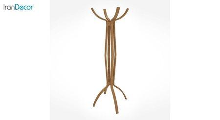 جالباسی ایستاده چوبی زیمر مدل فالانو