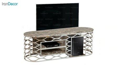 میز تلویزیون طرح سنگ میشا مدل دیاموند 1040