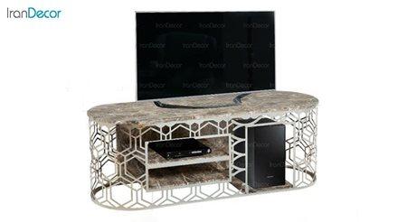 میز تلویزیون طرح سنگ میشا مدل مارینا 1044
