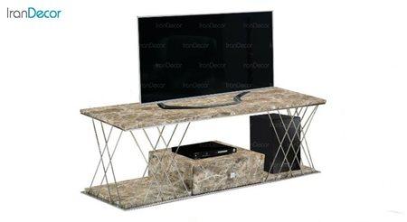 میز تلویزیون طرح سنگ میشا مدل میداس 1043