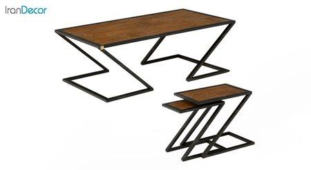 سرویس میز جلو مبلی مدل رویال از میشا چوب