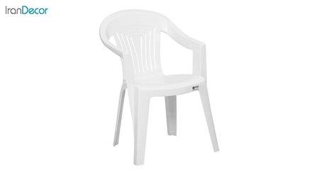 تصویر صندلی دسته دار پلاستیکی نظری مدل ملودی 505