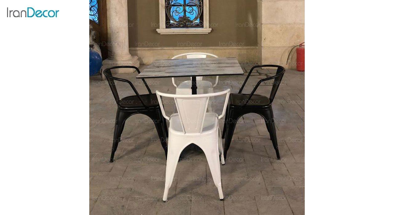 صندلی دسته دار فلزی نظری مدل تولیکس N502