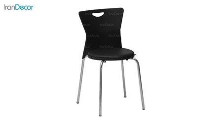 تصویر صندلی پایه فلزی نظری مدل وگا تشک دار کد P590