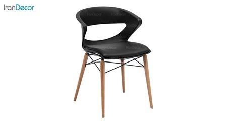 صندلی پایه چوبی تشک دار نظری مدل کیکا P851WR
