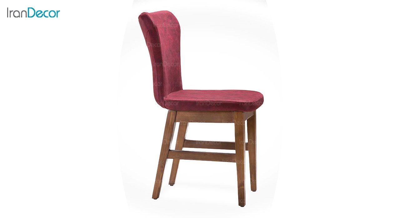 صندلی ناهار خوری چوبی بهار نارنج مدل رزا