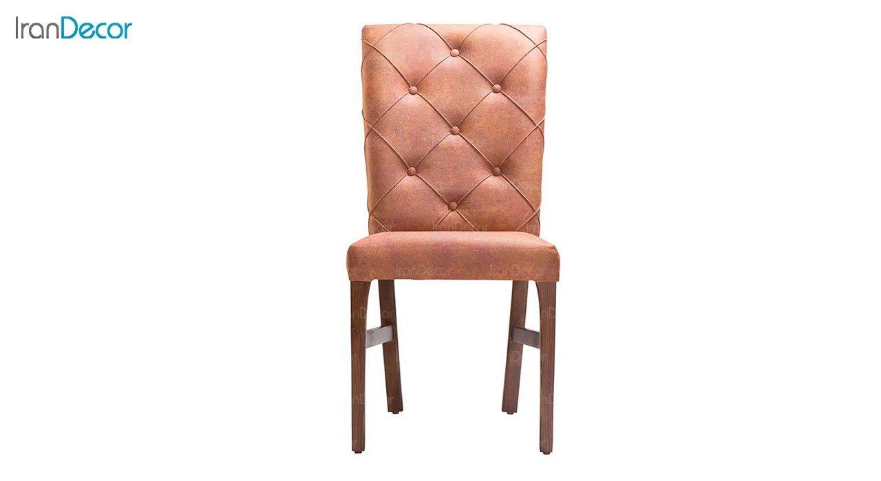 صندلی ناهار خوری چوبی بهار نارنج مدل سانتوش