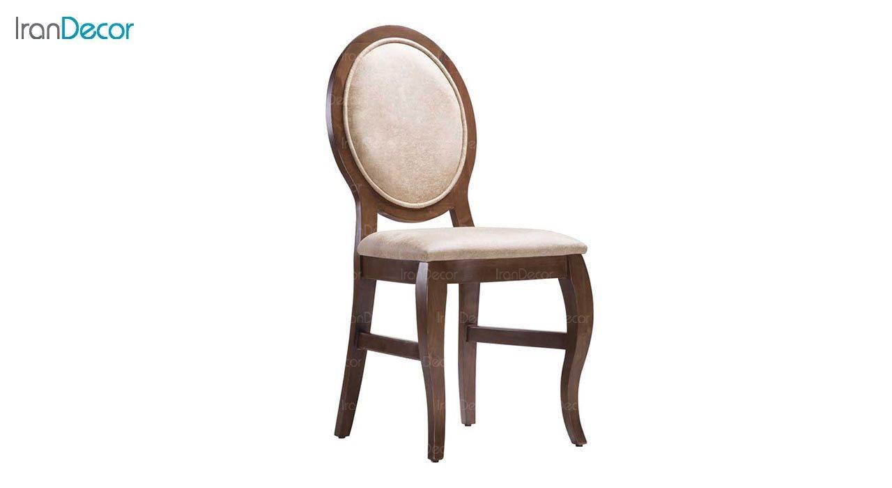 صندلی ناهار خوری چوبی بهار نارنج مدل هلیا