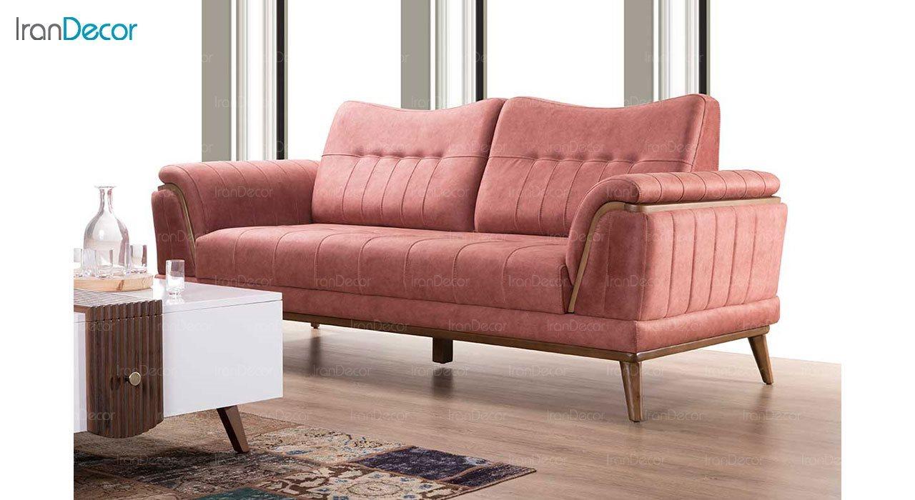 کاناپه راحتی سه نفره بهار نارنج مدل سامانتا