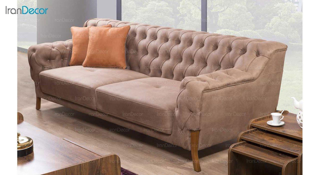 کاناپه راحتی سه نفره بهار نارنج مدل شینا