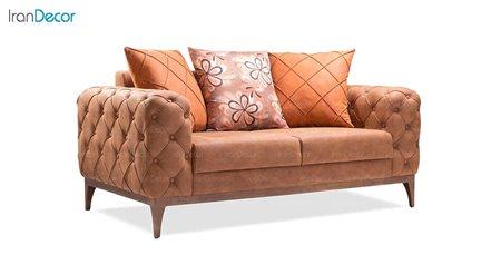 کاناپه راحتی دو نفره بهار نارنج مدل سانتوش