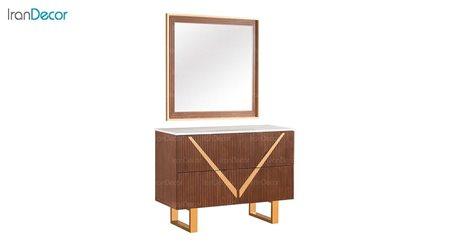 میز آرایش و آینه بهار نارنج مدل روژان
