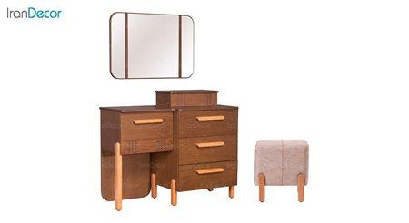 میز آرایش و آینه بهار نارنج مدل لیان