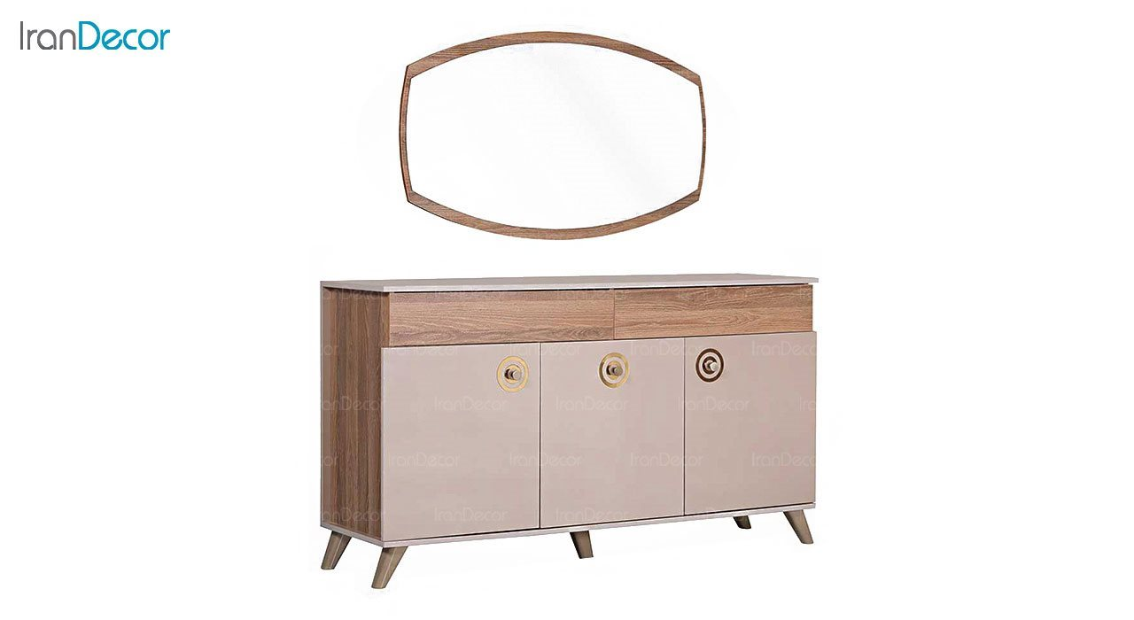 آینه کنسول بهار نارنج مدل سلار