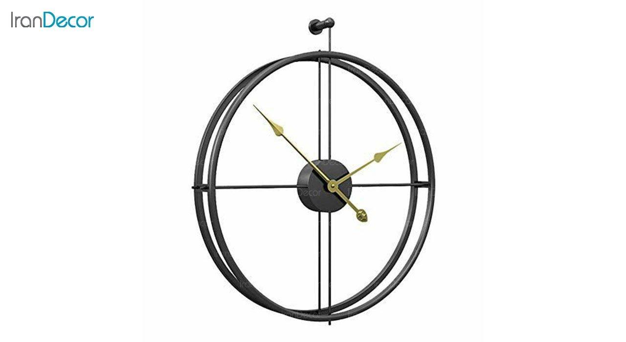 ساعت دیواری فلزی رویال مدل MZ109