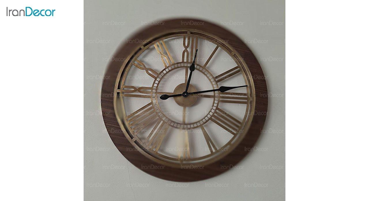 ساعت دیواری فلزی رویال مدل MZ111
