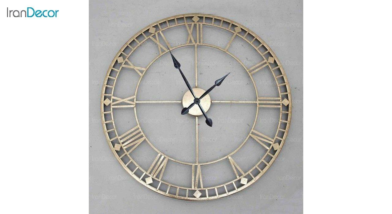 ساعت دیواری فلزی رویال مدل MZ122